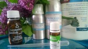 Mélange d'huiles essentielles anti-cellulite à faire soi-même