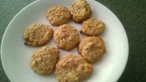 cookies moelleux banane flocon d'aavoine