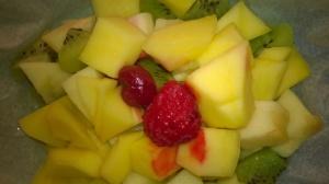 Fruits en papillote