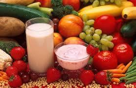 lait avec fruit